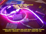 Lampu LED RGB Strip 5050 Remote Control